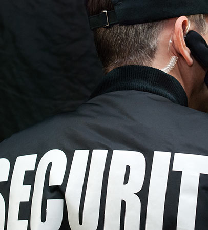 back side of security guard - best security guards company